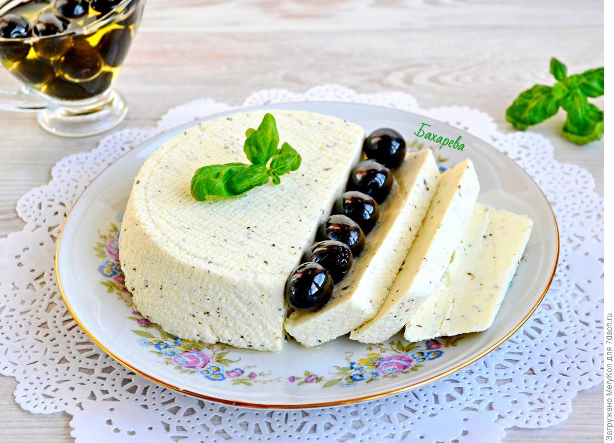 Рецепт вкусного домашнего сыра с прованскими травами