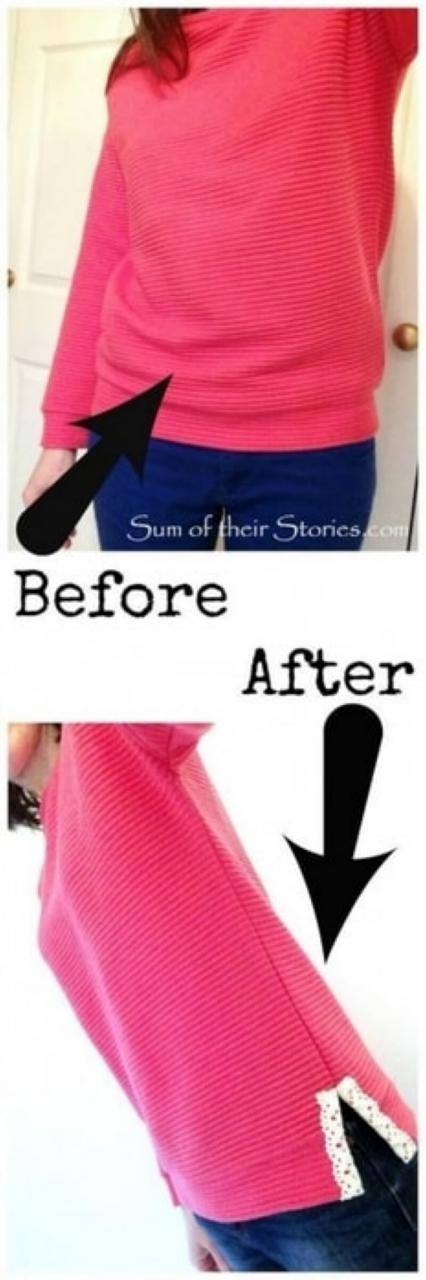Восхитительные идеи переделки старой одежды