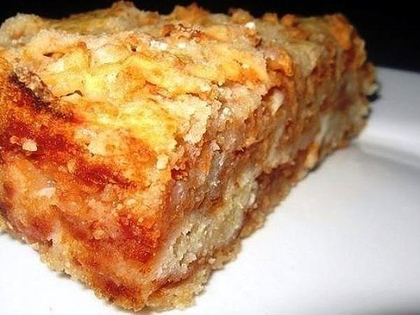 Самый вкусный сыпучий пирог с яблоками. Готовить проще простого!