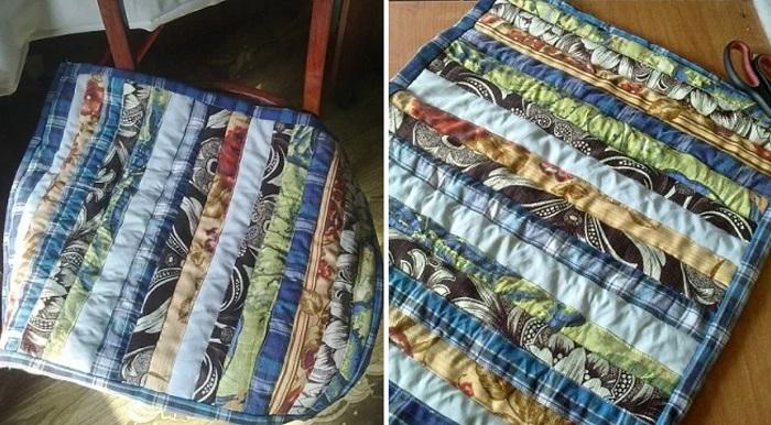 Есть ли потребность копить обрезки старой ткани