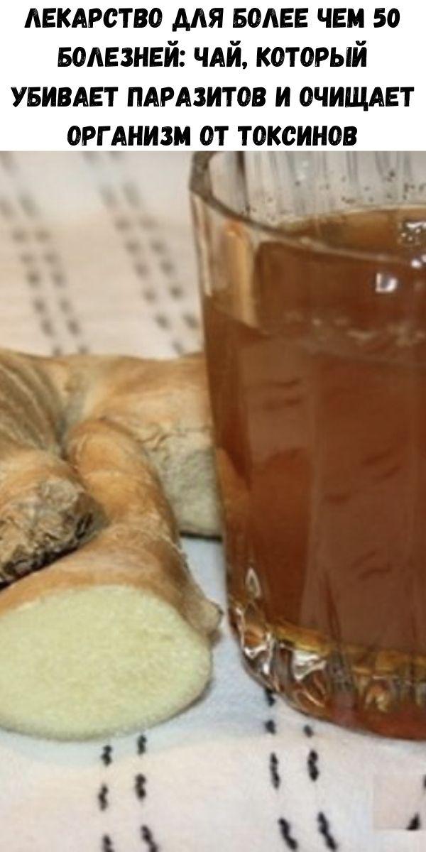 Лекарство для более чем 50 болезней: чай, который убивает паразитов и очищает организм от токсинов