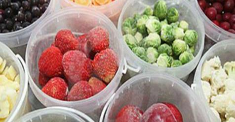 Научитесь замораживать фрукты и овощи!