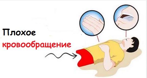 10 признаков плохого кровообращения!