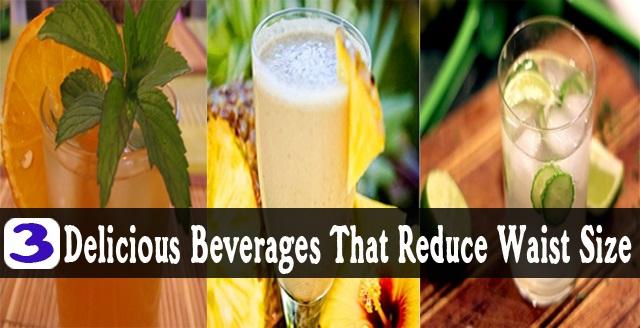 3 Восхитительных напитка, которые уменьшают размер талии