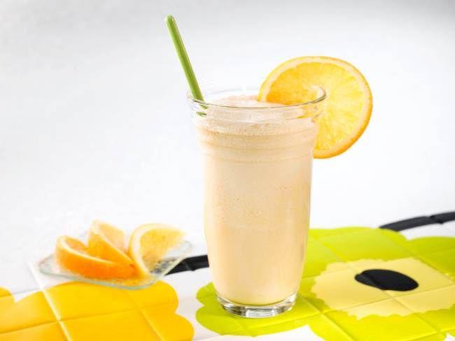 Супер коктейль для сжигания жира - кефирно-апельсиновый с имбирем