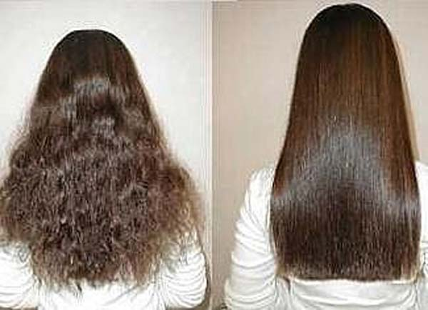 Домашние средства для борьбы с вьющимися волосами
