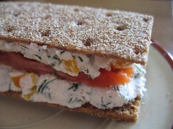 Диетический полезный бутерброддля тех, кто следит за фигурой!