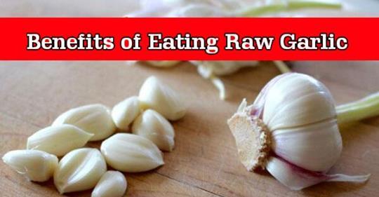 Преимущества ежедневного употребления сырого чеснока на пустой желудок