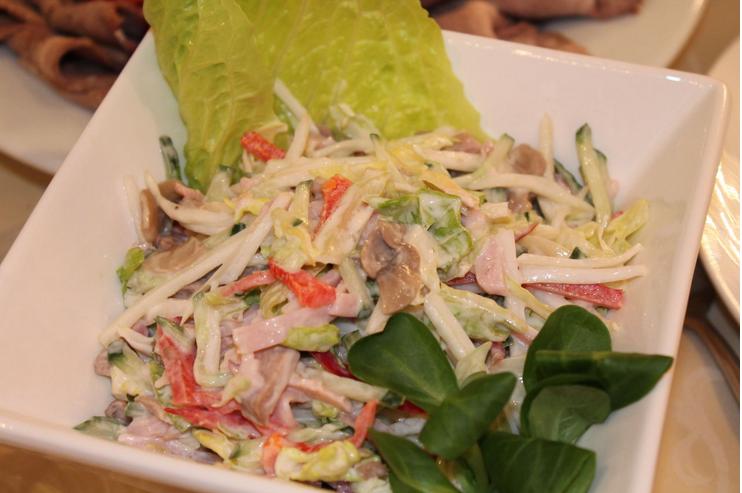 Легкий английский салат для ПП-ужина