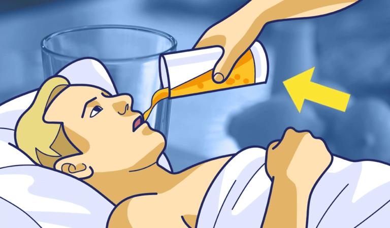 Сок против храпа - напиток, который должен пить ваш партнер, чтобы не храпеть ночью