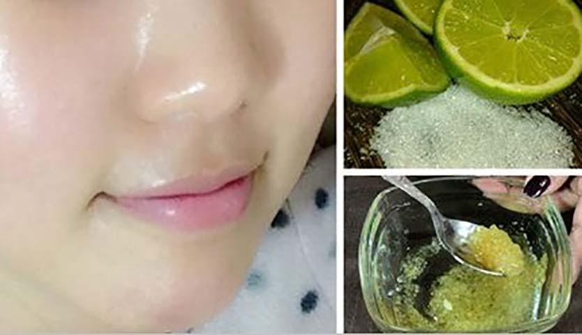 Используйте лимон для удаления пятен с лица!