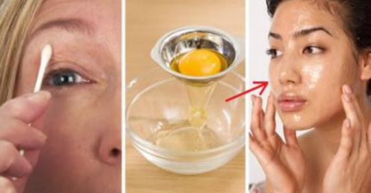 Как устранить морщины и подтянуть кожу с помощью яйца