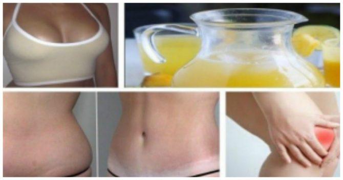 Стакан этого сока очищает ваше тело, сокращает жир и добавляет размер вашей груди