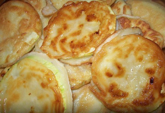 ПП-перекус - Кабачки в кляре