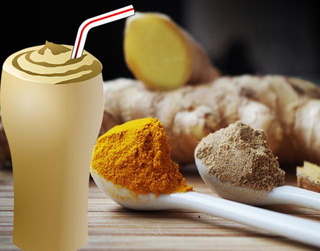 Смешайте куркуму, имбирь и молоко кокосового ореха за час до сна и поражайтесь результатами на утро!