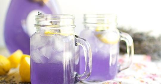 Как приготовить лавандовый лимонад для лечения головных болей и беспокойства
