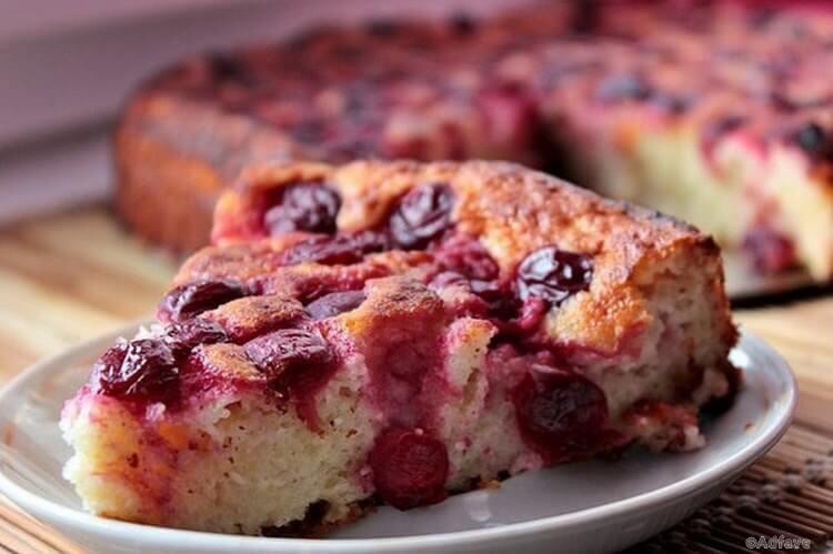 Вишневая ПП-запеканка - творожно-ягодный десерт для идеальной фигуры!