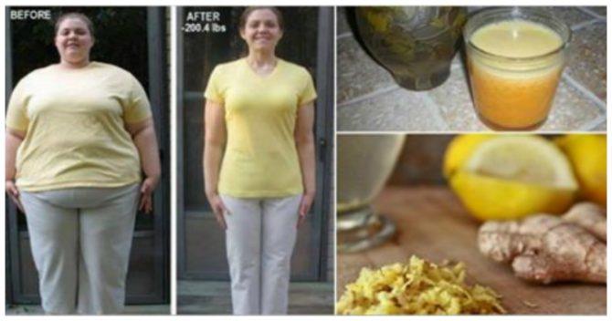 Домашнее средство для быстрого снижения веса с имбирным чаем