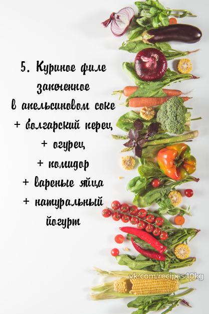 Топ-6 вариантов белковых салатиков для правильного питания