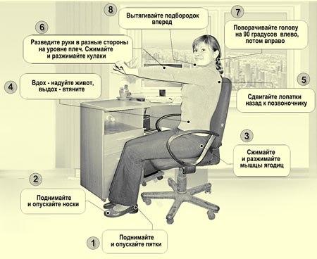 Гимнастика Воробьева - 6 минут и тело в форме!
