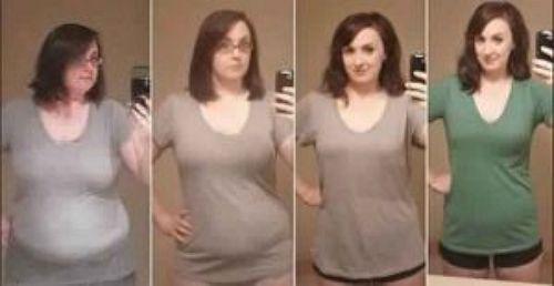 26 летняя Аманда потеряла 40 килограммов через 1 год, вот ее 3 секрета