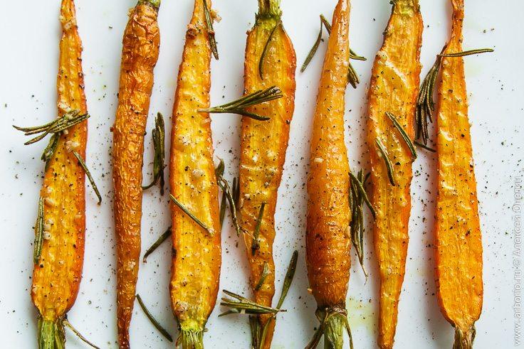 Здоровый и полезный гарнир для стройняшек - Морковь, запеченная в духовке