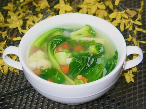 Овощной суп - превосходный рецепт для похудения!