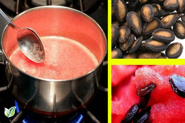 Вскипятите семена арбуза, а затем потребляйте их, эффекты лишат вас дара речи!