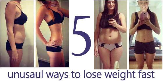 5 необычных способов потерять вес без упражнений, и они действительно работают