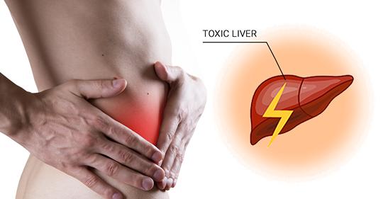 6 симптомов того, что ваша печень наполнена токсинами
