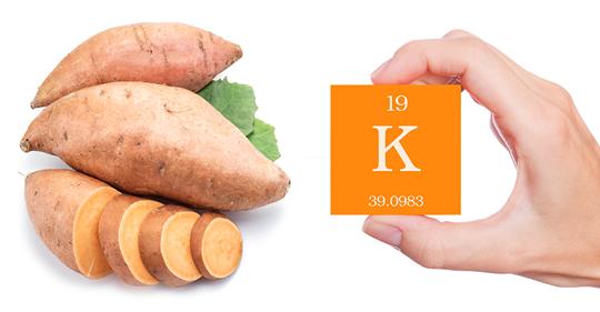 15 продуктов с наибольшим содержанием калия