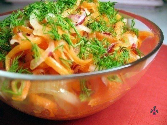 Низкокалорийный салат для похудения