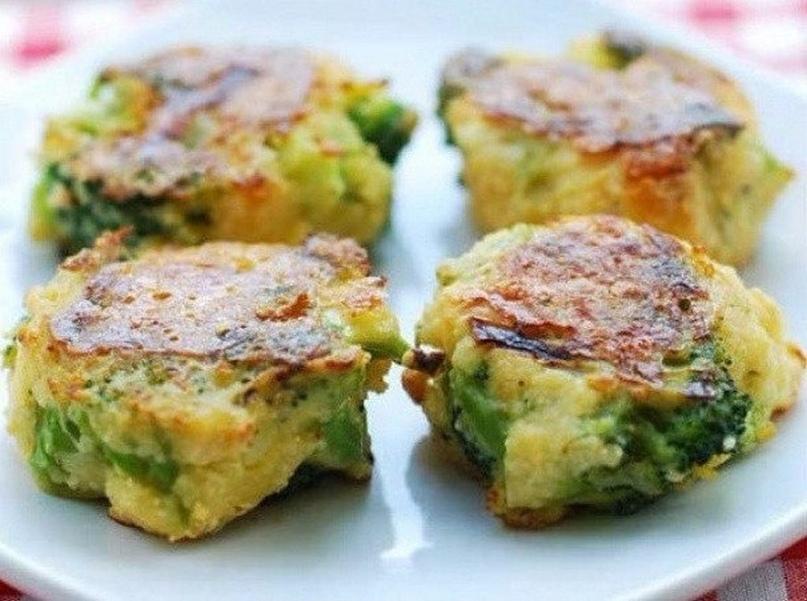 Полезный ужин - котлеты из брокколи с сыром