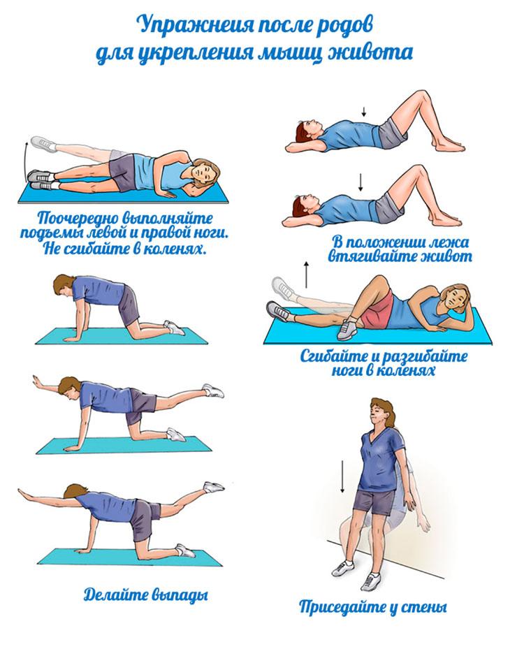 Топ-5 интенсивных упражнений, которые подтянут дряблую кожу на животе