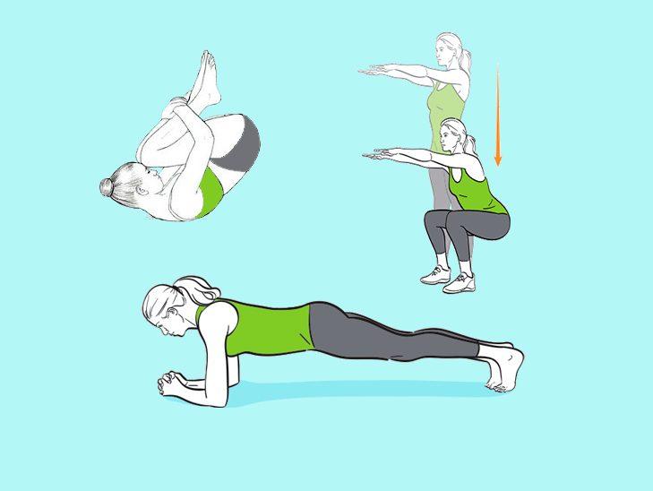 Золотая пятерка: 5 главных упражнений, которые подтянут и оздоровят все тело