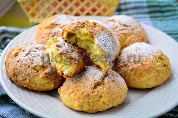 Творожно-овсяное печенье для тех, кто на диете!