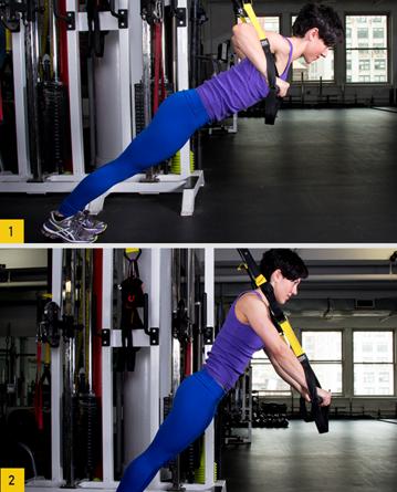 Описание самых эффективных упражнений на TRX