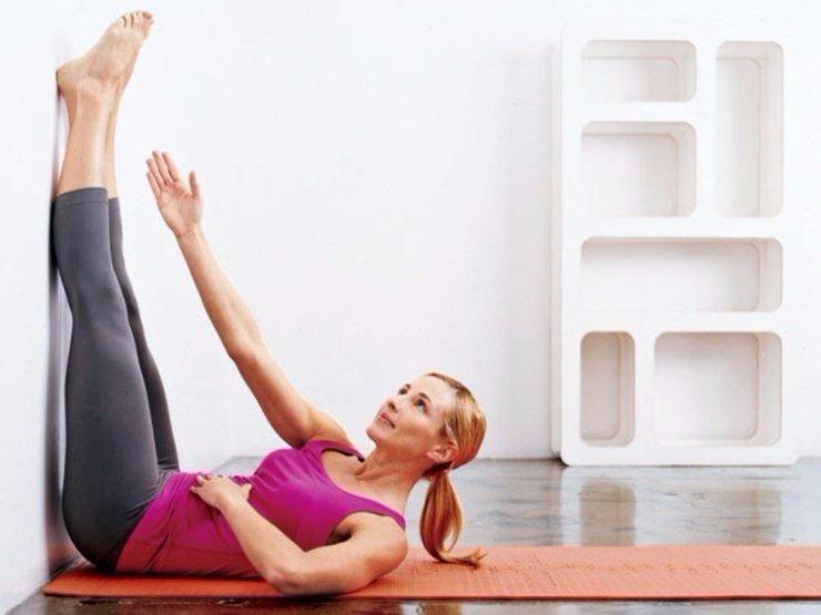 Очень простые, но очень эффективные упражнения для живота